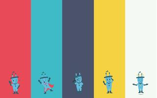 Farbschema von Steckys Klima-Mission