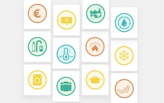 Übersicht der Icons, die auf Steckys Klima-Mission auftauchen