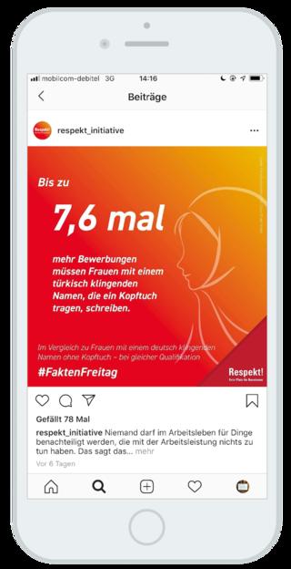 RESPEKT! KEIN PLATZ FÜR RASSISMUS - IG Metall - Social Media
