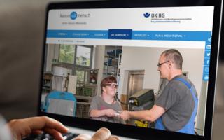 Website kommmitmensch