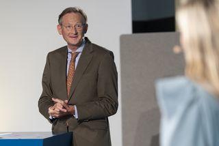 Schlussworte mit IBB Vorstandsvorsitzender Dr. Jürgen Allerkamp, © IBB / Dirk Enters